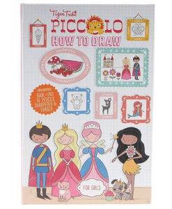 Tiger Tribe Piccolo How To Draw - Flowers, Princesses & more