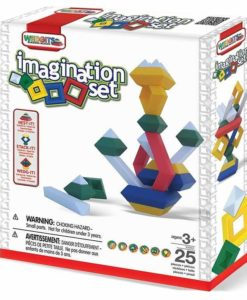 WEDGiTS Building Blocks - Imagination Set (25 pieces)