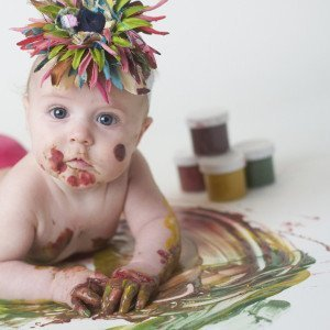 Wee Can Too Veggie Baby Finger Paint (4 colours) 3