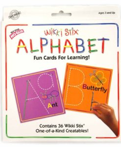 Wikki Stix - Alphabet Card Set (with 36 Wikki Stix)