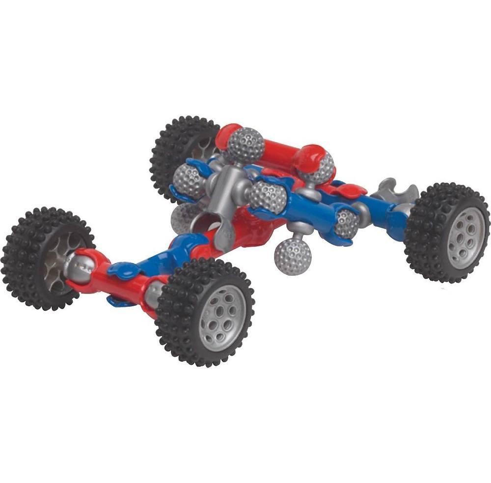 Zoobmobile Car Designer Kit 76 Zoob Pieces Plus 12 Wheels 2