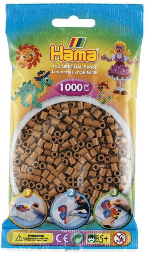 Hama_Beads_1000_Brown