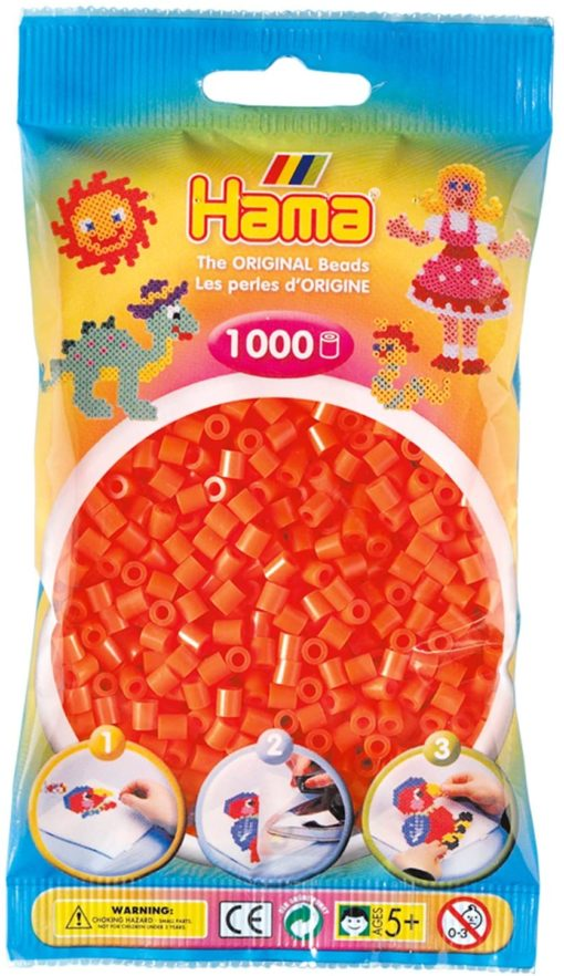 Hama_Beads_1000_Orange