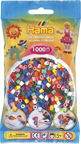 Hama_Beads_1000_Solid_Colour_Mix