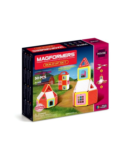 Magformers_Build_Up_50_piece_set_house_1